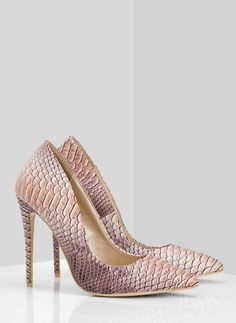 Beżowo wężowe szpilki Darling / Szpilki / Obuwie damskie - Buty w stylu gwiazd. Modne obuwie, najnowsze trendy, atrakcyjne ceny. Sklep z butami i ubraniami, modne buty letnie i zimowe - DeeZee.pl