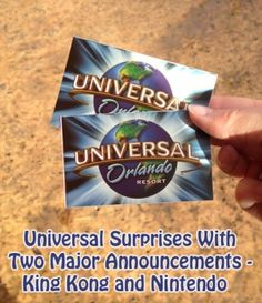 Universal Surprises With Two Major Announcements - King Kong and Nintendo