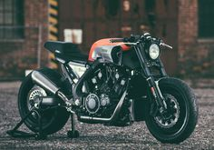 The beautiful & brutal 'Infrared' custom Yamaha VMAX by JvB-moto - celebrating the 30th anniversary of the V-Max and VMAX. ...