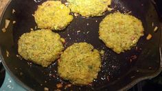 Chickpea Burgers in Coconut Oil