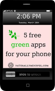 How green is your phone?  Green Apps | Tech Tips | Sustainability | Eco-friendly Technology