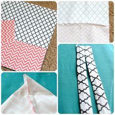 einfache tasche nähen für dummies schritt für schritt anleitung diy tutorial große handtasche Für Dummies, Quilts, Blanket, Easy Bag, Large Handbags, Diy Handbag, Striped Fabrics, Bag Tutorials, Small Bags