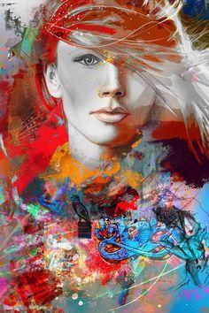 Yossi Kotler Kunst-Freiheit ist innerhalb