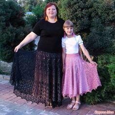 Мое воплощение красивого дизайна юбки- В краю магнолий Crochet Skirts, Knit Fashion, Lace Skirt, Crochet Patterns, Knitting, Knits, Tube, Sweaters, Women