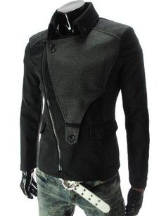 I found 'TheLees (DJK21) Mens Casual Rider Style Stretchy Slim Zipper Jacket Jumper' on Wish, check it out!
