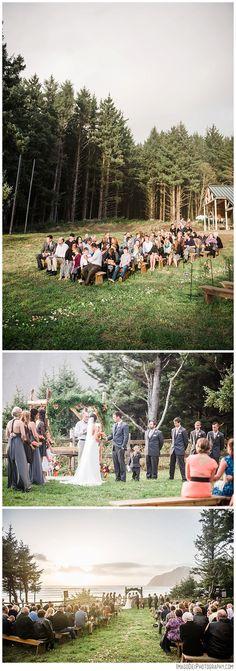 Camp Clark? Wedding in the forest // Pacific City Oregon Wedding // Oregon Coast Wedding // Pacific City Wedding Photographer | Imago Dei Photography | Xiomara Gard