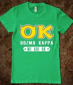 Oozma Kappa: We're Okay! Saw monsters last night loved it!!! So funny so cute!