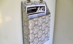 10 Ways to Upcycle Cereal Boxes - Cereal Box turned Storage for mail or papers - Page 3 of 11 - How To Build It