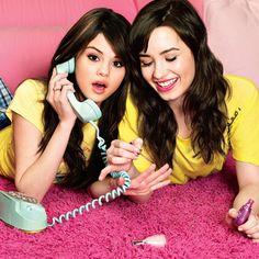 Demi Lovato and Selena Gomez.
