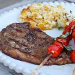 Coffee-Marinated Rib Eye Steaks for Our Labor Day BBQ