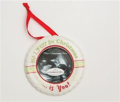 All i want christmas ultrasound ornament from the grandparent gift babys on the way i bet this ornament will make you teary eyed each negle Choice Image