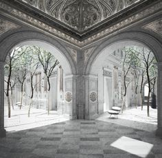 Recovery and value of the historic monument Palacio Pereira | 1-st Place competition | Santiago, Chile