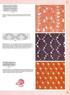 tricotaje romb