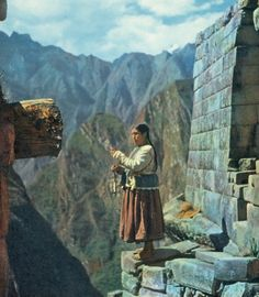 Ceremony at Machu Pichu