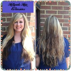 #Hotheads Hair Extensions, hair done by Tammy,#headsuphairstudio,