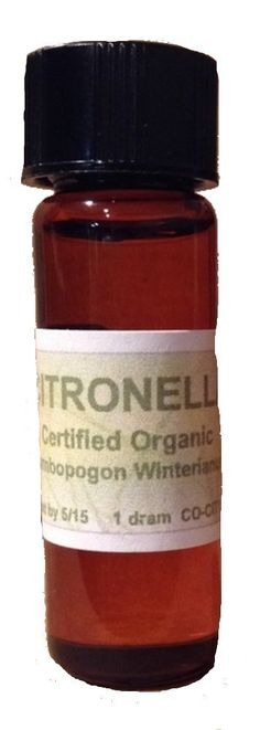 CommonScents Organic Citronella Essential Oil One Dram, 100% Pure Therapeutic Grade -- New and awesome product awaits you, Read it now  : thyme essential oil