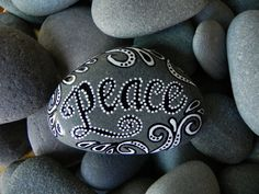 Peace Be With You / Sea Stone from Cape Cod by LoveFromCapeCod