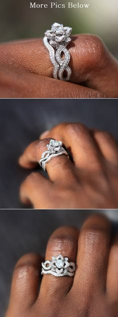 What an engagement ring!