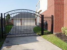 Driveway Gates Sam S Fence Cercas Fences Pinterest