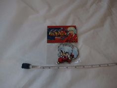 Inuyasha: InuYasha Attack Stance Anime Patch RARE NOS NEW IN PACKAGE Rumiko