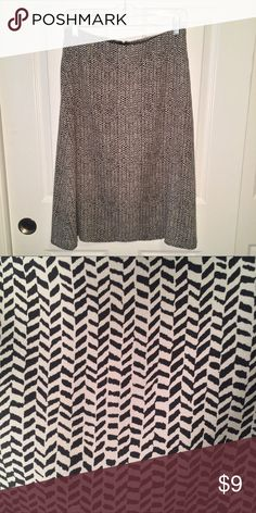 "Modest Below the Knee Skirt by Attention In great condition. Measures 14 3/4"" across when laid flat and 27"" from top to bottom. I wear a medium/size 6 and can still comfortably wear this skirt. Comes from a pet free and smoke free home. Attention Skirts A-Line or Full"