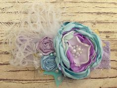 Under the sea. Custom couture headband. by LondyLouHeadbands, $24.99