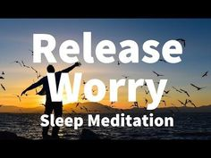 Sleep Meditation: Release Worry Guided Meditation Hypnosis for a Deep Sleep & Relaxation Guided Meditation For Sleep, Meditation For Anxiety, Free Meditation, Meditation Benefits, Meditation For Beginners, Meditation Techniques, Chakra Meditation, Relaxation Techniques, Reiki