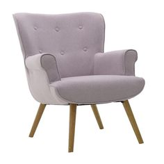 Find from classic overstuffed armchairs to contemporary bucket seats, from frilly feminine boudoir chairs to macho masculine hessian upholstery. Fabric Armchairs, Pink Purple, Upholstery, Sofa, Contemporary, Living Room, Bedroom, Furniture, Home Decor