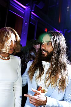 Beyoncé and Jared Leto