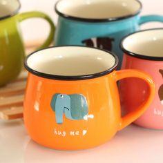 Aliexpress.com : Buy zakka  Cute cartoon  cup/Ceramic mug/Coffee cup from Reliable mug business suppliers on W&H&Y