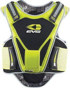 7b98a91521a el sve sport chaleco chest back spine protector calle motocicleta large xl  hi viz wp