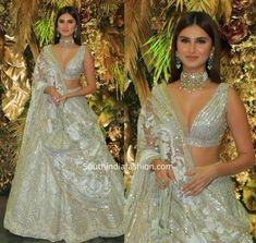 tara sutaria lehenga at armaan jain wedding reception 2 scaled Indian Bridal Outfits, Indian Bridal Lehenga, Indian Designer Outfits, Pakistani Bridal, Bridal Dresses, Indian Wedding Clothes, Punjabi Wedding, Indian Weddings, Manish Malhotra Lehenga