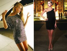 Gorgeous dresses! From Gossip Girl clothing line. <3 LOVE!