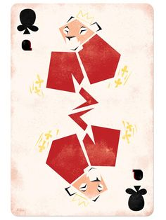 Disney Playing Cards (thise one is Sarabi as the Queen of Clubs)