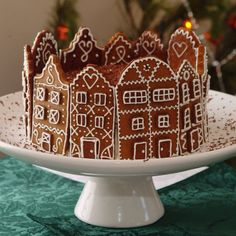My Dutch gingerbread house that I made in 2007