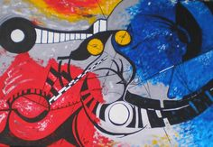 Chaos oil on canvas