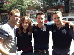 Ruzek, Lindsay, Antonio, Halstead - Chicago PD