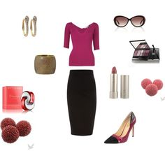 Berry Tempted..., created by stephanie-pettitt-michelli on Polyvore