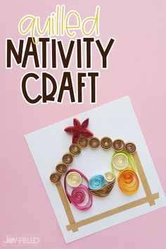 Greatest Projects for Kids Get creative by using these sweet and also super simple inspired crafts for kids! Pinterest Christmas Crafts, Christmas Crafts For Kids To Make, Bible Crafts For Kids, Christmas Activities For Kids, Toddler Crafts, Christmas Fun, Fun Crafts, Christmas Nativity, Christmas Printables