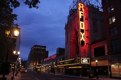 Fox Theatre, St. Louis, MO.  When we moved to St. Louis we discovered another Fox Theatre.  Turns out it is one of five in the country built by the Fox Corp back in the day.  All are nearly identical.  So it's a sister to the Fox Theatre, Detroit, MI.  The restoration, IMHO, is more faithful to the original.  Still, both theatres are AMAZING!