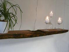 Hängelampen - XXL LED Hängelampe Antikbalken - ein Designerstück von PeKa-Ideen bei DaWanda