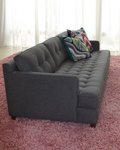 "jonathan adler barbie hotel   Jonathan Adler ""Whitaker"" Sofa - Neiman Marcus I want this couch!!!"
