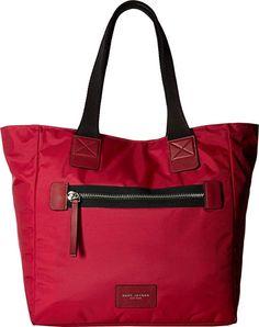 6b3ba4d867ee Marc Jacobs Women s Nylon Biker North South Tote Raspberry Handbag designer  handbags spring handbags handbag