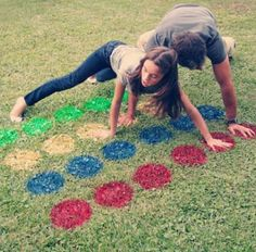 DIY Lawn Twister. A MUST for summer!