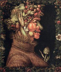 דיוקן מפירות - חיפוש ב-Google