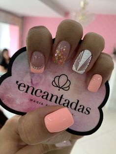 Nail Decorations, Cute Nail Designs, Short Nails, Nail Inspo, Manicures, Christmas Nails, Nail Care, Summer Nails, Cute Nails