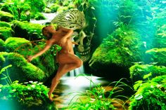 Atelier - Walter Sparr: forest- dance Illustration, Dance, Atelier, Erotica, Sculptures, Face, Pictures, Dancing, Illustrations