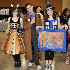 Great Dr. Who Costumes!!!