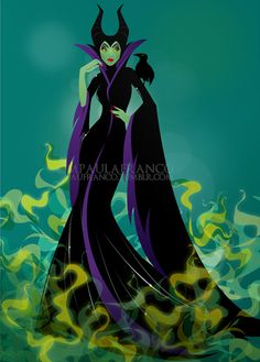 The Mistress of All Evil! Sleeping Beauty will always be my favorite Disney Classic because it has the best villain.