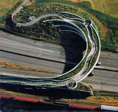 The Confluence Project: Land Bridge, Vancouver, Washington. Amazing Architecture, Landscape Architecture, Architecture Design, Maya Lin, Organic Structure, Vancouver Washington, Native American Artwork, Underground Cities, Permaculture Design